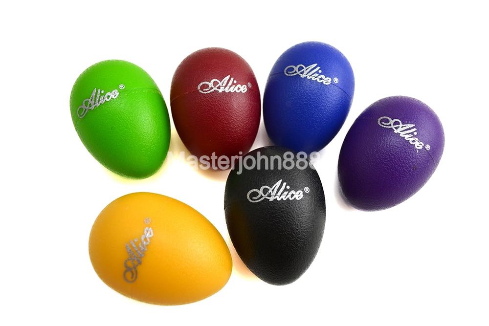 Alice A041SE Colourful Sound Eggs Shaker Maracas Percussion