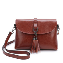 100% Genuine Leather Female Shoulder Bag 2020 Retro Designer Shoulder Bag for Women Fashion Messenger Bag Small Flap Bags стоимость