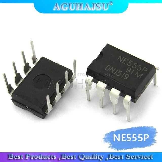 10 stücke NE555P NE555 DIP8 Einzel hohe präzision timer neue original