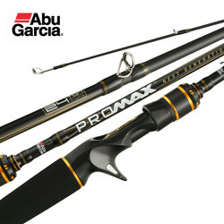Original Abu Garcia PRO MAX PMAX Baitcasting Angelrute Carbon M MH ML Spinning angelrute 1,98 M 2,13 M 2,28 M Angeln Cane