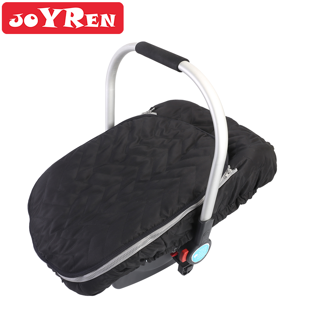 Baby Car Seat Cover Zipper Opening Infant Carseat Canopy Keeps Your Baby Toasty In Cold Winter