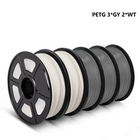 Enotepad petg filamento 1kg/2.2lbs 1.75 millimetri ad alta resistenza 3d petg filo nero per stampante da Oltremare magazzino