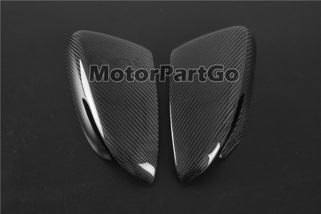 Real Crabon Fiber Mirror Cover 1 pair for  Kia K3 with turn signal 2014-2017 T252M 3