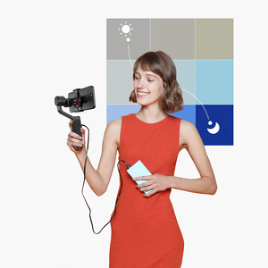 Image 5 - Zhiyun Smooth Q2 3 Axis Handheld Smartphone Gimbal Stabilizer for iPhone XS XR X 8Plus 8 7P 7 Samsung S9 S8 S7 vs Smooth 4