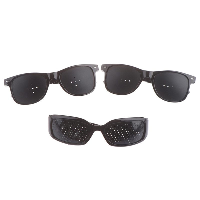 1PCS Vision Protector Pin Hole Glasses Improve Your Eyesight Best Choice For Reading Writing Or Watching Eye Fitness Eye Care