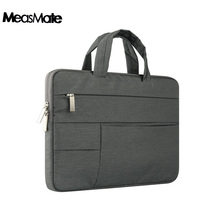 Anki saco do portátil à prova dwaterproof água bolsa caso para macbook air 11 12 13 14 15.4 15.6 polegada unisex forro manga notebook para xiaomi ar hp