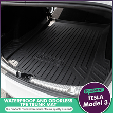 For Tesla Model 3 Trunk Mats Customized Car Rear Trunk Storage Mat Cargo Tray Trunk Waterproof Protective Mat Compatible hot car front trunk storage mat cargo tray trunk waterproof protective pads compatible for subaru xv forester outback 2019