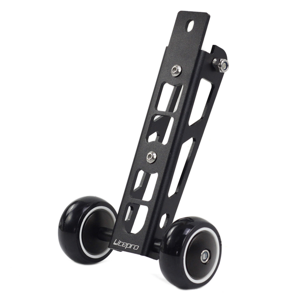 Litepro Birdy Bike Easy Wheel High Strength Alloy Bmx Push Wheels For BIRDY Bike Stand 244g
