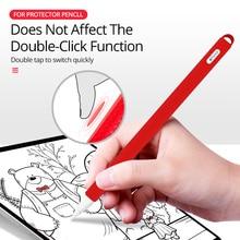 Cap Stylus-Pen Sleeve-Case Protective-Cover Apple Pencil Detachable Soft-Silicone ANKNDO