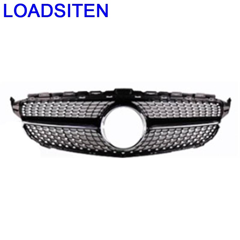 Automobile Mouldings Exterior Automovil Accessory Modification Upgraded Car Accessories Racing Grills FOR Mercedes Benz C Class