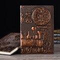 Kühle Zeit Maschine Thema Vintage Hardcover Tagebuch Notebook Geschenk A5 Gefüttert Journal Sehnte Stil Buch Geschenk