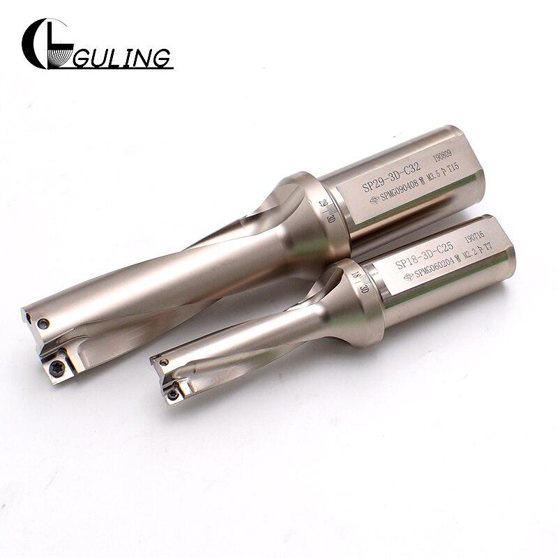 tipo de Broca do sp do Jato 12.5mm-28mm para o tipo de Perfuração u para a Inserção Spmg Zd02 2d Zd02-12.5-xp20-sp05
