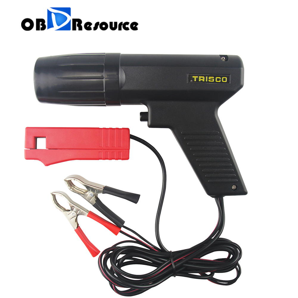 12V Ignition Timing Light Strobe Lamp Inductive Petrol Engine For Car Motorcycle Marine Timing Gun Tool Automotive Diagnosis