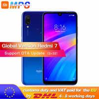 Global version Xiaomi Redmi 7 3GB 32GB Smartphone Snapdragon 632 Mobile phone Octa Core 4000mAh 12MP 6.26'' Full screen