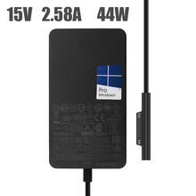 15V 2.58A for Microsoft NEW Surface Pro5\6 Laptop Power Adapter 1800 1796 44W Charger