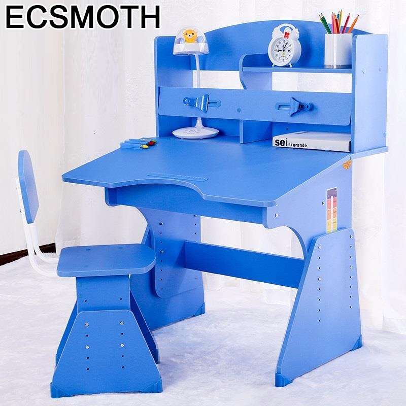 Children Chair And Pour Silla Y Infantiles Desk Scrivania Bambini Play Adjustable Enfant Mesa Infantil Study Table For Kids