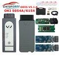 ODIS 5054A оригинальный OKI Full Chip Bluetooth AMB2300 5054A V5.1.6 с ключом 6154 WIFI UDS для VAG диагностический инструмент
