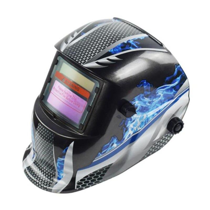 Solar Automatic Welding Mask Head-Mounted  Welding Helmet Goggles Light Filter Welder'S Soldering Work