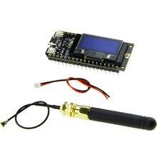 TTGO Módulo de ESP 32 con antena, LORA32, 868/915Mhz, ESP32, LoRa, pantalla OLED de 0,96 pulgadas, Bluetooth, WIFI, ESP32