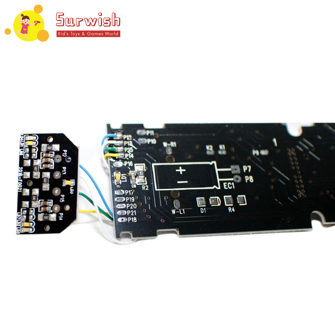 HO 1:87 Scale Train Model PCB Circuit Board With LED Light Sound For Sand Table - Upgrade Version