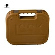 Newest Tactifans GLOCK ABS Pistol Case Tactical Hard Gear Box Gun Bag