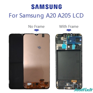 100% Test For Samsung Galaxy A20 LCD Display A205F/DS A205GN/DS SM-A205FN/DS Lcd Display Touch Screen Digitizer Assembly(China)