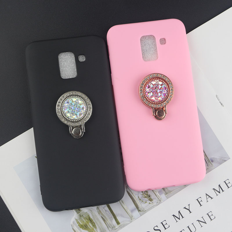 Phone Stand Case For Motorola Moto E4 Plus E5 E6 Z2 Play Z3 Z4 P40 Power P30 ONE Vision/Action Bee Pearl Diamond TPU Cover