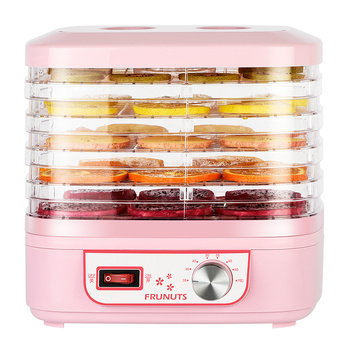 Food Dehydrator Dried Fruit Machine Food Dryer Fruit and Vegetable Pet Meat Dried Air Dried Home Dehydrator Small Gift