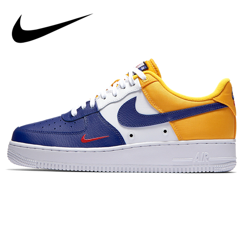 Original Nike Air Force 1 Low To Help Skateboarding Shoes Men's Lace-up Durable Classic Fashion Top Quality Sneakers 823511