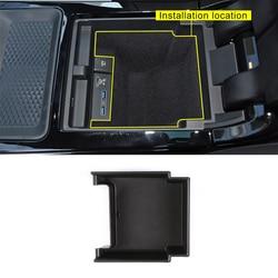 Dla Range rover evoque 2019 2020 rok środek samochodu pudełko do przechowywania na deskę rozdzielczą akcesoria do telefonu w Listwy wewnętrzne od Samochody i motocykle na