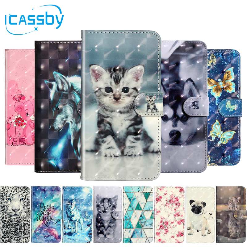 Flip Book Case For Coque iPhone 5S Luxury Cat Leather Wallet Phone Cover For iPhone 5 SE| |   - AliExpress