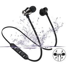 Sports-Headset Magnetic Hifi XT11 Bluetooth Waterproof Android Wireless In-Ear for Ios