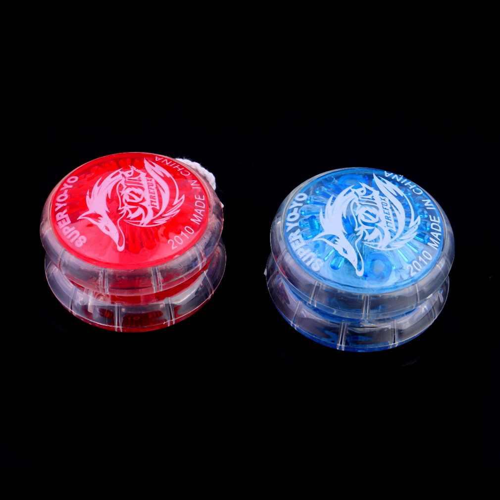 حار 1 قطعة ماجيك ملون يويو لعب للأطفال البلاستيك يسهل حملها اليويو لعبة حفلة صبي كلاسيكي مضحك يويو العاب كروية هدية