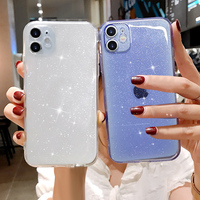 Custodia per telefono trasparente Candy di lusso per iphone 11 12 mini Pro Max XS X XR 7 8 plus SE 2020 custodia morbida in Silicone antiurto