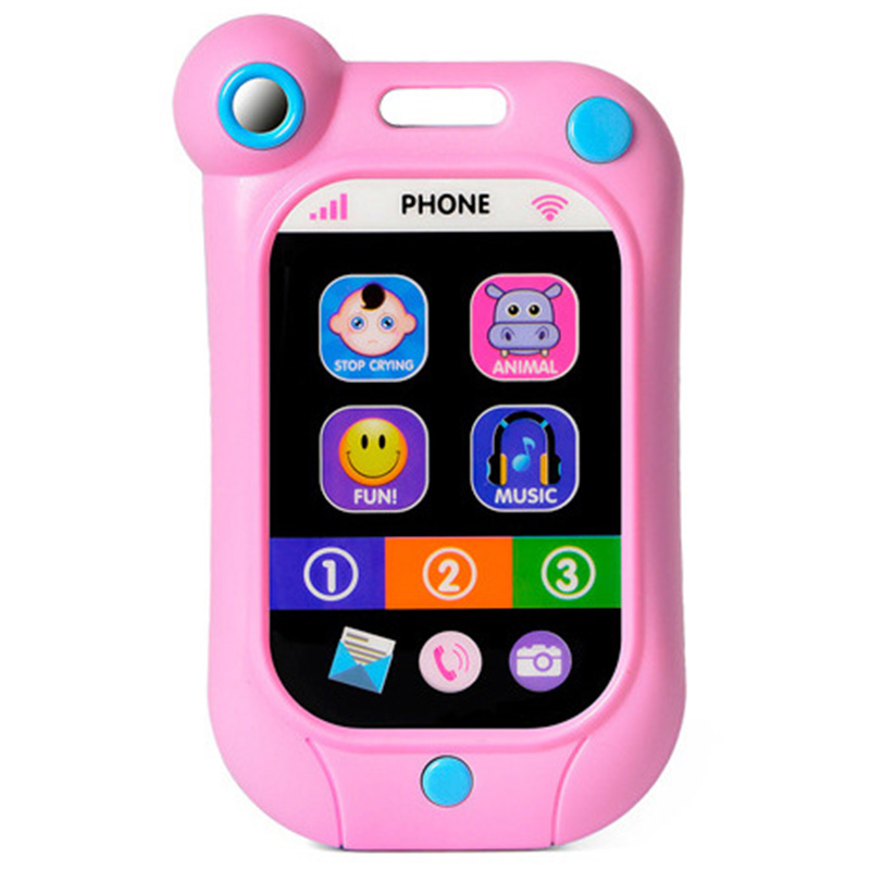 Baby Toy Phone Learning Musical Cell Phone Songs Animals Sound Simulated Mobile Phone Kids Educational Toy Stop Crying