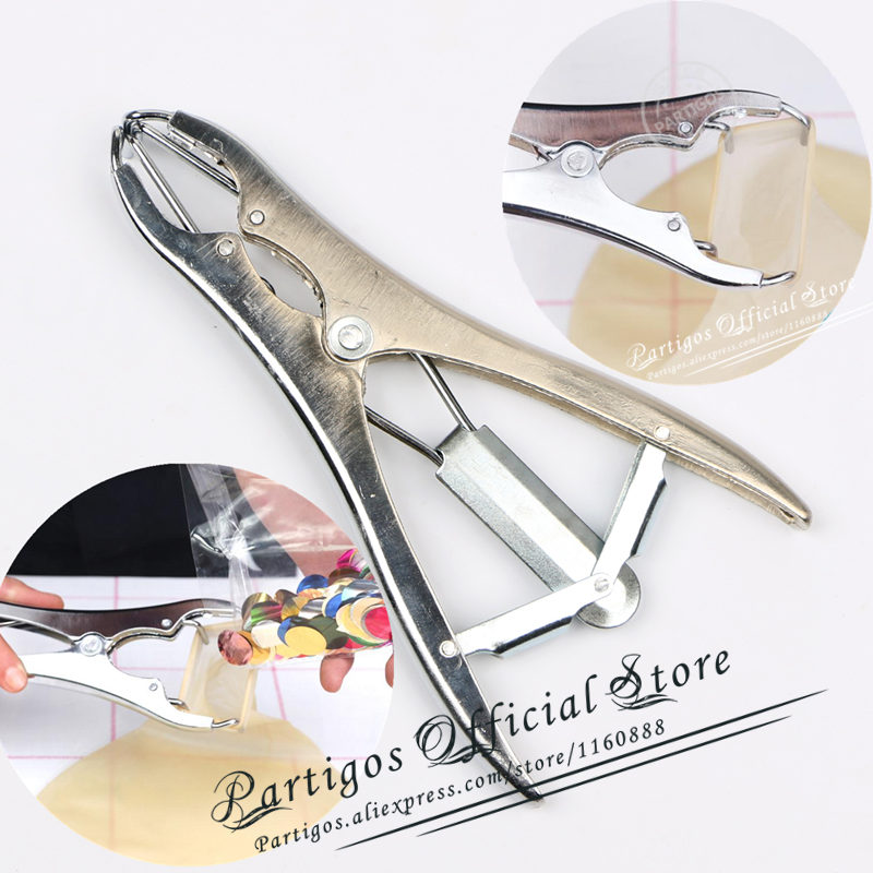 Metal Balloons Expansion Pliers Filling Balloon Mouth Expander DIY Tools For Transparent Bobo Bubbles Ballons Filling Confetti