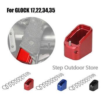 цена на Tactical Magazines Base Pad Kit Fits For IPSC, USPUA, IDPA Magazine Extension For GLOCK 17, 22, 34, 35