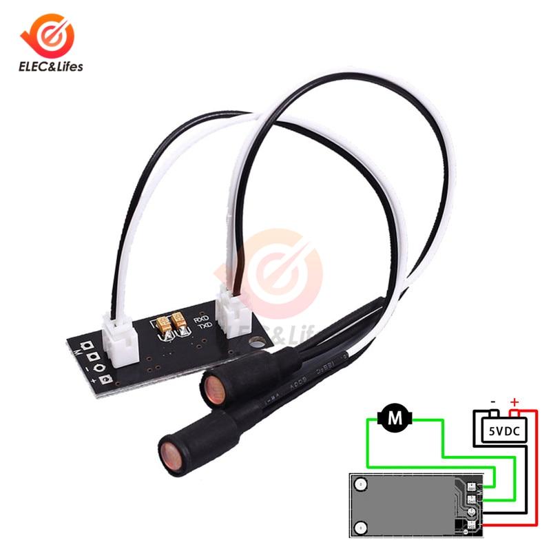 Solar Powered Automatic Tracker Solar Tracking Sensor Module PCB Circuit Board Single Axis 5V Light Source Tracking Plate Module