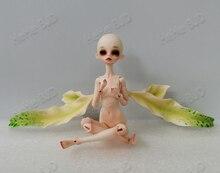 HeHeBJD קיסוס 1/8 סדרת תינוק ילדה גוף בובות דקל בובות משלוח עיני משלוח חינם