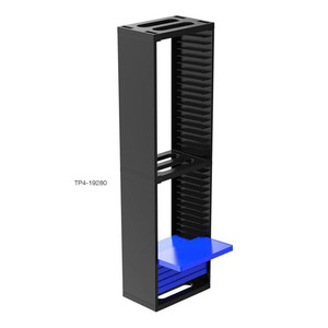 Image 5 - PS4 Dubbele 2 Layer Opslag Stand Base Cradle Kit 36 Pcs Game Discs Zetels Voor PS4 Pro/PS4 Slanke /PS4 Houder Collectie Display