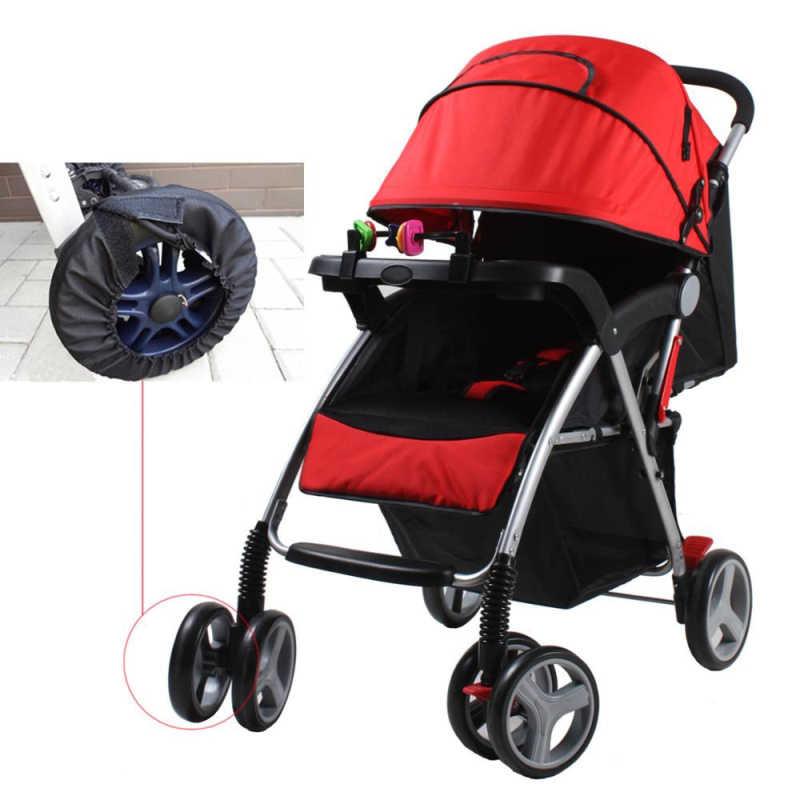 1Pc Carrinho de Bebê Acessórios Capas Para Cadeira De Rodas Carrinho de Bebê Carrinho de bebê carrinho de Rodas Roda de Cobre caixa de Proteção À Prova de Poeira