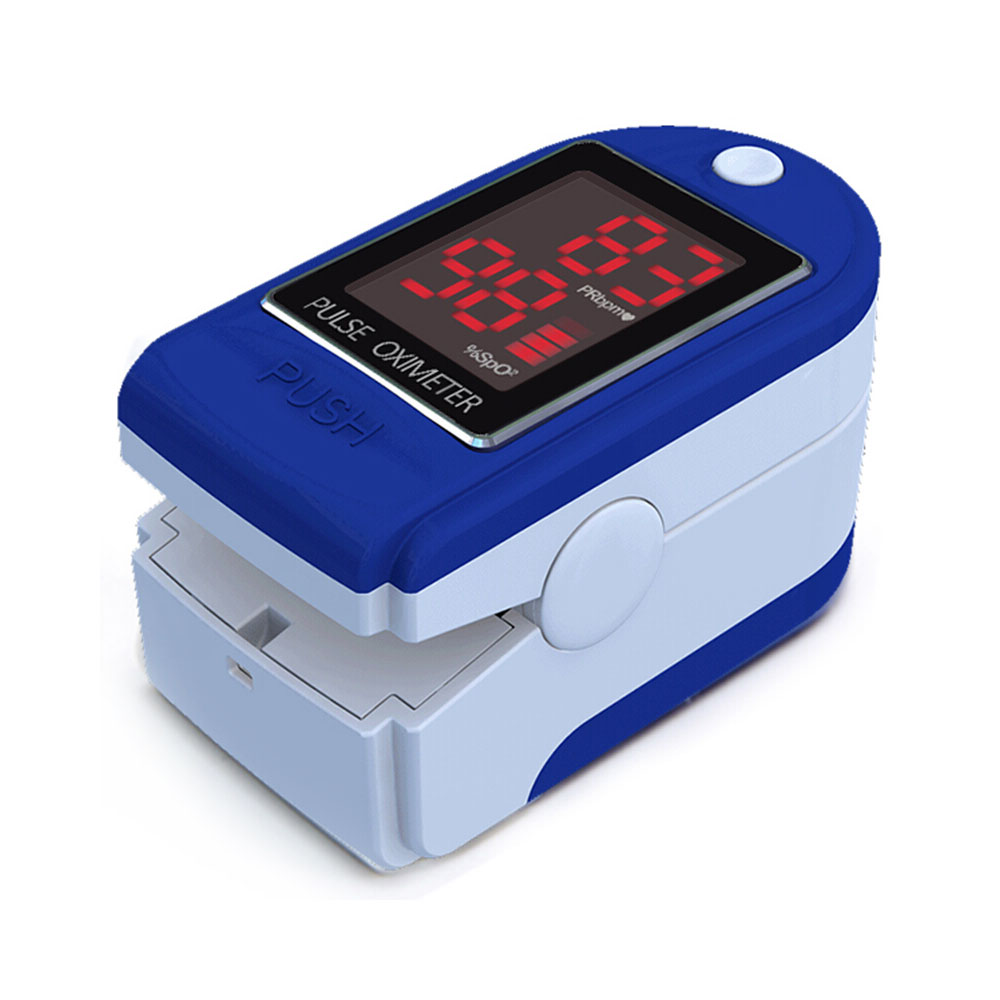 Finger Oximeter Pulse Detection Oximeter Blood Saturometer Monitor SPO2 PR Portable Pulse Oximeter Pulse Oximeter For Home