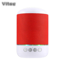 VITOG TG115 Wireless Bluetooth Speaker Portable Stereo Sound Subwoofer TF Card FM Radio AUX MP3 Music