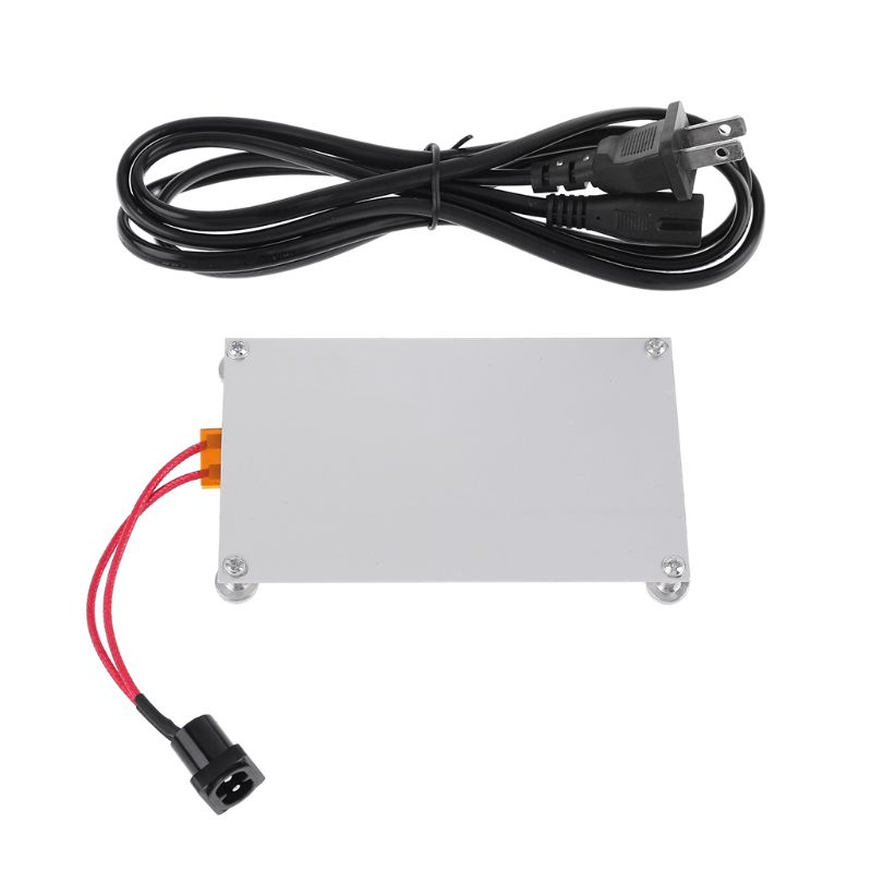 550W Aluminum LED Remover PTC Heating Plate Soldering Chip Remove Weld BGA Solder Ball Station Split Plate US Plug