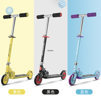 Two wheeled Children's Scooter with Lifting Folding All aluminium Foot Scooter Kids Kick Scooters Gifts for Boys and Girls