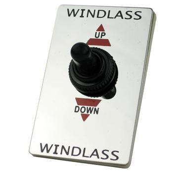 Przełącznik podnoszenia i opuszczania windy morskiej do wciągarki kotwica łodzi tanie i dobre opinie BYSSEA CN (pochodzenie) 1 97inch 3 15inch 2017 Plastic Przełącznik przyciskowy Up Down Control Switch 0 12kg 1203057