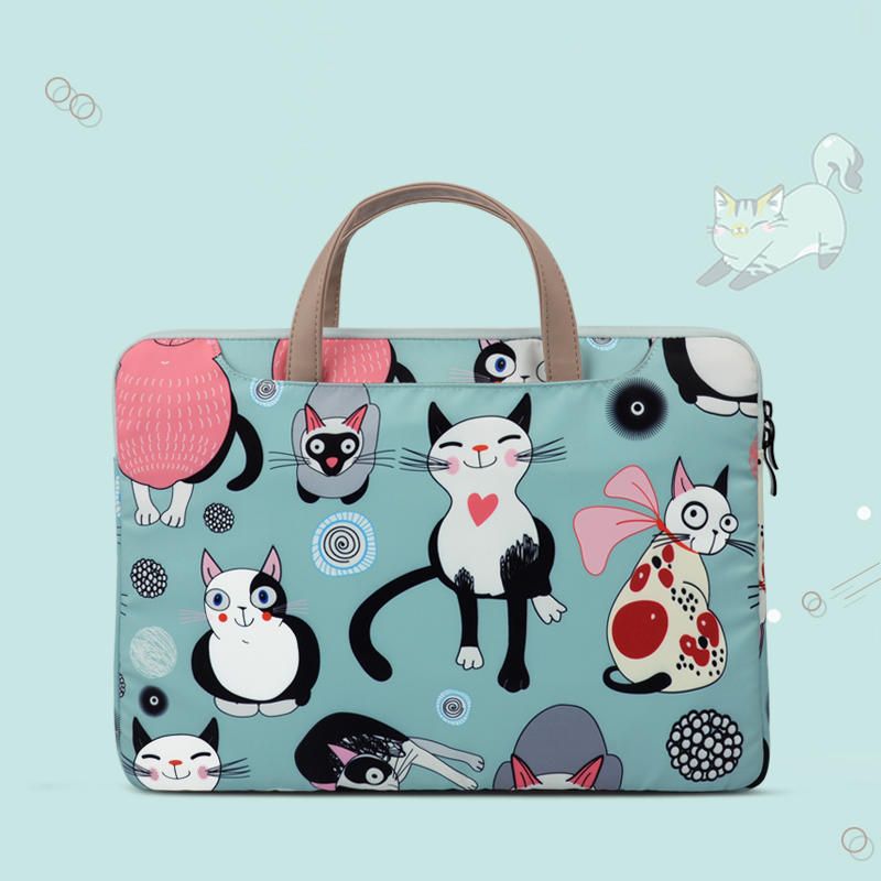 New Tablet Computer Bag Fashion Handbag 9.7/10.5/11/12.9 Inch Notebook Laptop Bag Briefcase Multi-function Laptop Bags For Women