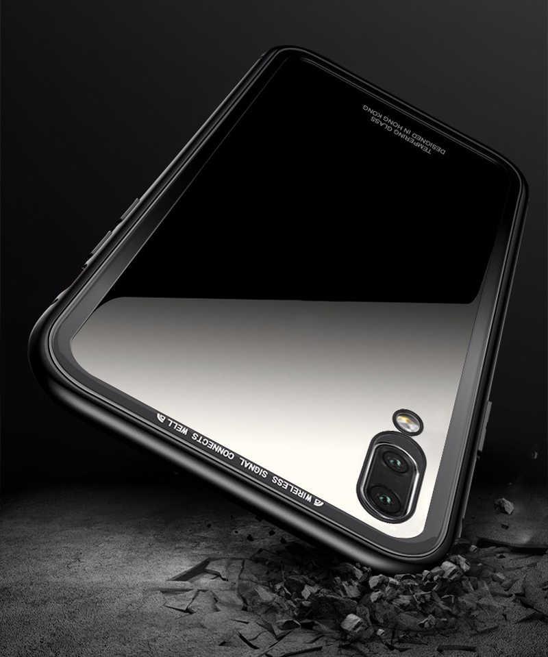 Magnetic Adsorption Metal Phone Case For Xiaomi Redmi Note 7 5 6 Pro 6A Mi 9 8 lite Mi9 SE POCO F1 Tempered Glass Magnet Cover