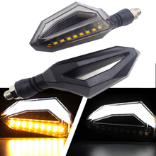 Universal Motorcycle Turn Signal Lights Lamp Amber LED intermitentes moto FOR vespa px 200