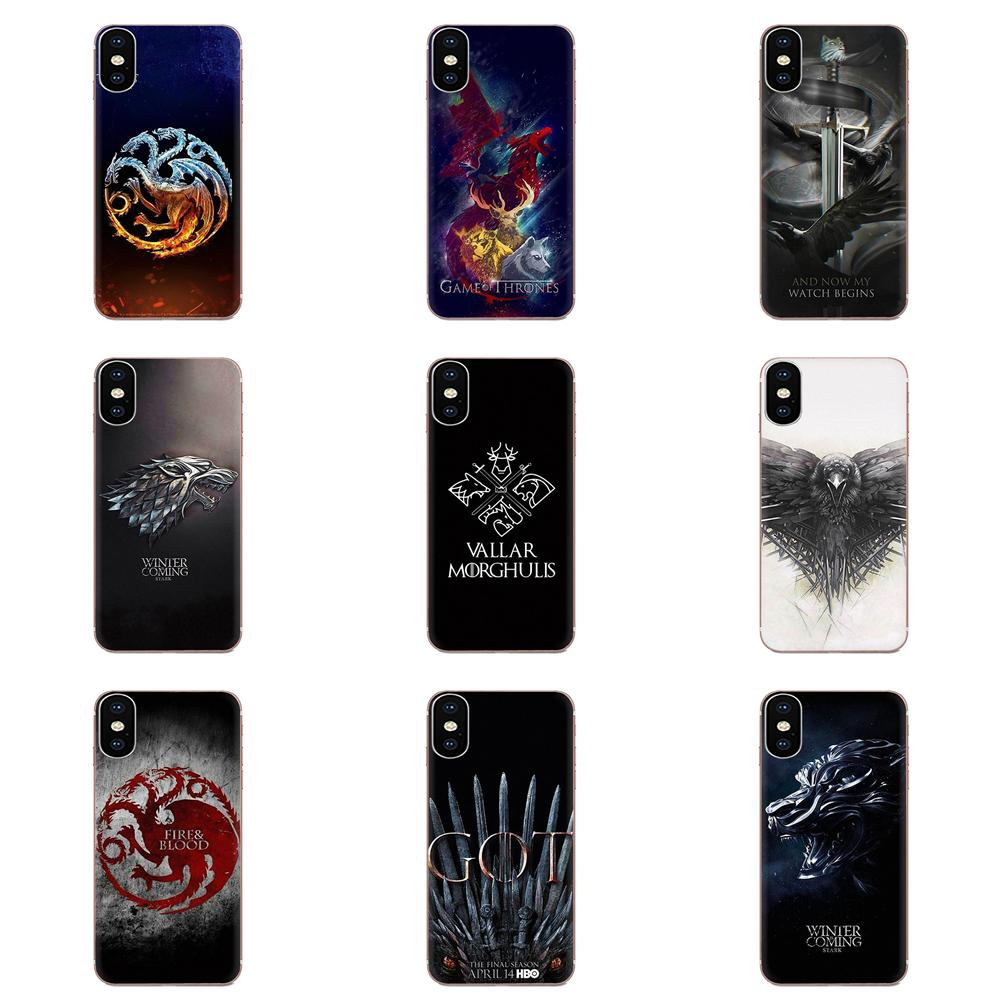 For LG G2 G3 G4 G5 G6 G7 K4 K7 K8 K10 K12 K40 Mini Plus Stylus ThinQ 2016 2017 2018 TPU Patterns The Game Of The Thrones image